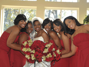 DONESHIA WEDDING